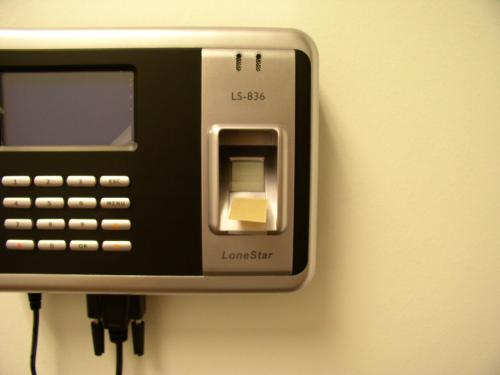 Lonestar LS-838 Fingerprint Time Clock Membrane