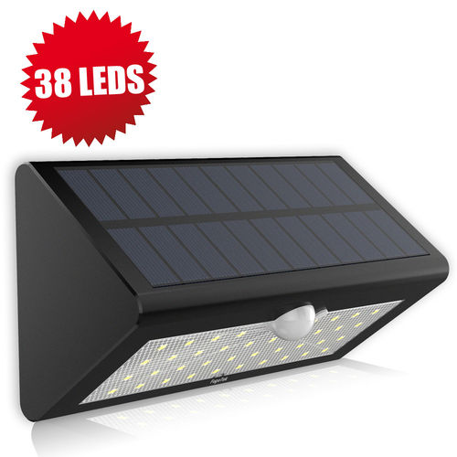 Fugetek FT-38L Solar Motion Sensor Light Super Bright 38 LED's